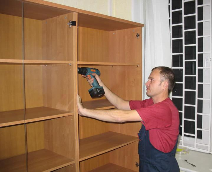 Установка мебели Днепропетровск