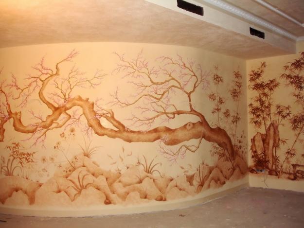 Художественная роспись стен Днепропетровск