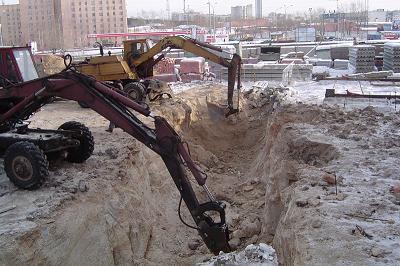 Земляные работы в Днепропетровске