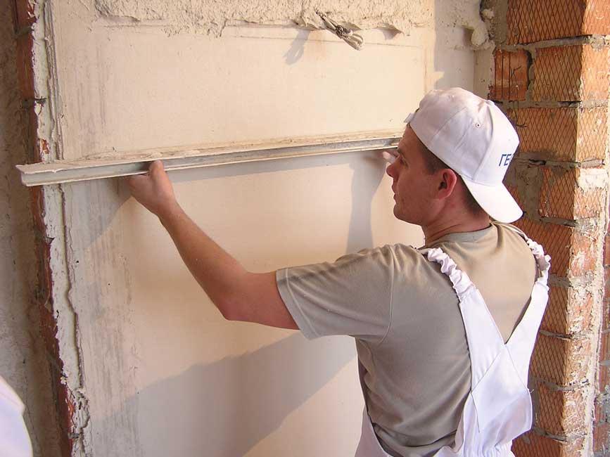 Шпаклевка стен в Днепропетровске
