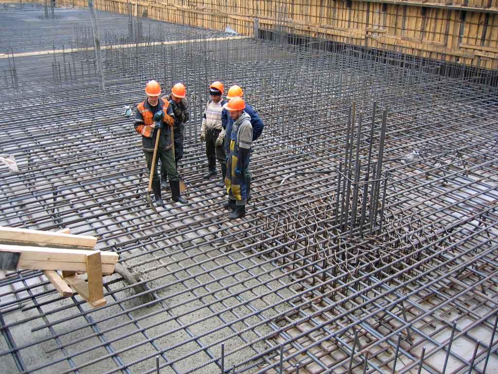 Что такое работы с бетоном
