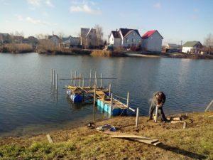 Благоустройство территорий - Строительство причала в Киеве и Киевской области - 2