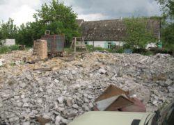 Наши работы - Демонтаж старого дома - 39