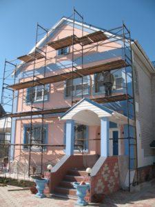 Наши работы - Утепление фасада - 3