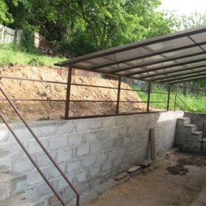 Наши работы - Подпорные стены - 3