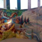 Наши работы - Фотографии наших работ по росписи стен и потолков - 1