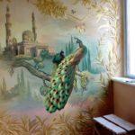 Наши работы - Фотографии наших работ по росписи стен и потолков - 2