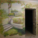 Наши работы - Фотографии наших работ по росписи стен и потолков - 6