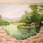 Наши работы - Фотографии наших работ по росписи стен и потолков - 16