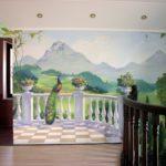 Наши работы - Фотографии наших работ по росписи стен и потолков - 17